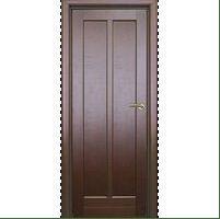 Двери межкомнатные темно-коричневые