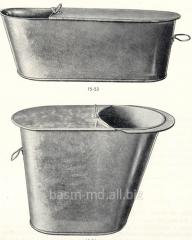 Ванночки металлическиеBaia din metal pentru...