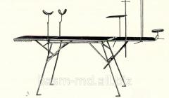 Стол операционный с ручным подъемом полевой...