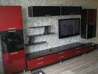 Гостиная черно-красная