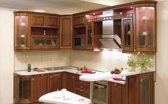 Кухонный гарнитур под классику
