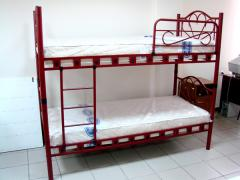Beds are two-level