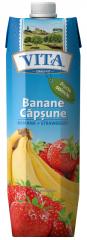 Нектар бананово – клубничный с мякотью Vita