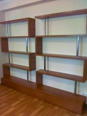 Racks and regiments for rooms, offices