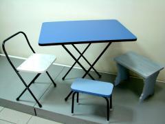 Little table and stool nurseries