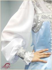 Русский народный костюм «Берёзка» для хороводов (для детей) - R 0115A