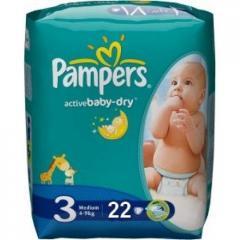 Детские подгузники Pampers Active Baby