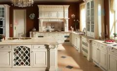 Classical kitchen to order in Chisinau, REGINA