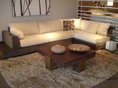 El sofá de Krina angular, N - 46
