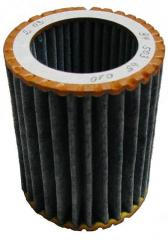 The filter with absorbent carbon only for stitched