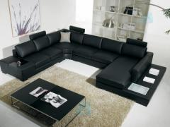 El sofá BLACK NERO angular