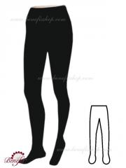 Footed tights for adults (supplex) - D 0002
