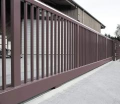 Gate are industrial retractable