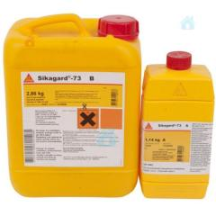 Two-component epoxy emulsion of Sikagard 73
