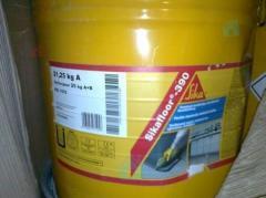 Elastic Sikafloor 390 epoxy