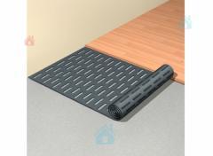 Звукопоглощающая система для деревянных напольных