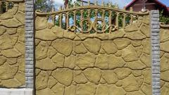 Zaboryb, section fences, decorative fences