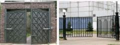Oar mechanisms for gate