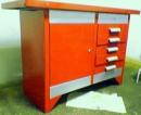 The workbench is metalwork
