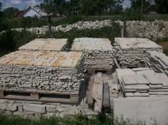 Materials from a natural stone