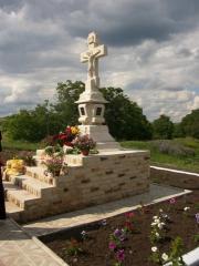 Rastigniri,monumente funerare,piatra