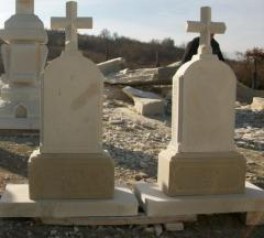Monuments in Moldova from a natural stone