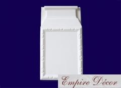 Молдинг и декор из полиуретана для обрамления дверей и окон D 3509