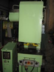 Press of krivoshipny 16 t 25 t 40 t 63rd tone