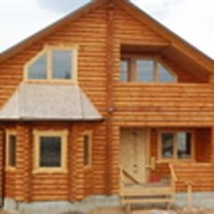 Лестница деревянная для дачных домиков