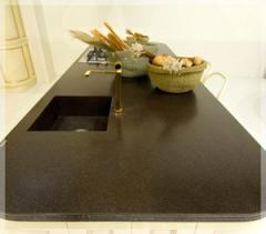 Table-tops from an artificial stone, Blaturi din