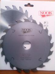 Пила дисковая с твердосплавными пластинами ф=200х32х20 зуб 2,2 мм ТМ NOOK