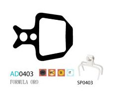 Blocks disk ASHIMA AD0403-SM-S w/spring