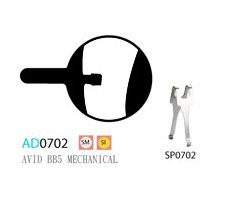 Blocks disk ASHIMA AD0702-SM-S w/spring