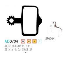Blocks disk ASHIMA AD0704-SM-S w/spring