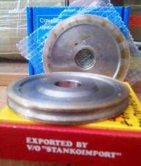 Круг алмазный шлифовальный 14F6V и 1F6V c