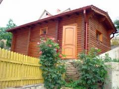 Дома деревянные из клееного бруса