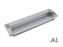 Handle cut-in aluminum AL