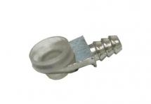 Полкодержатель металлический с вакуумной присоской