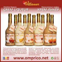 CREM LIQUEUR (Cream liqueur) - emulsion liqueur