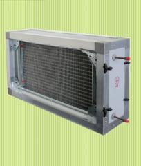 Water/couple heater section
