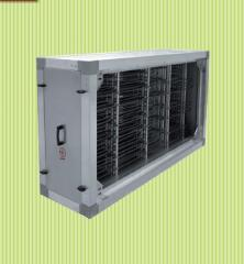 Section of the electric heater