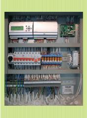 Section of automatic equipment of management Salda