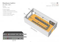 Звуковая система - Зал заседаний, встроенные