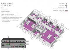 Звуковая система - Офис,встроенные потолочные
