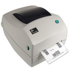 Thermotransfer label printer of ZEBRA TLP2844