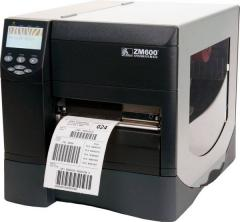 Промышленный принтер этикеток Zebra ZM600