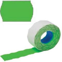 Ценник флуоресцентный зеленый 26*12 1000шт