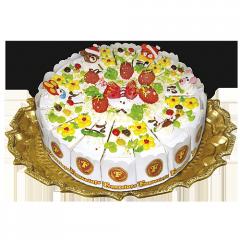 Бисквитный торт Веселая полянка