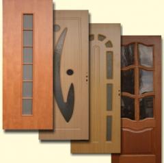 Двери ( МДФ,шпон,фанера)