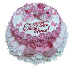 Торт для крестин 11